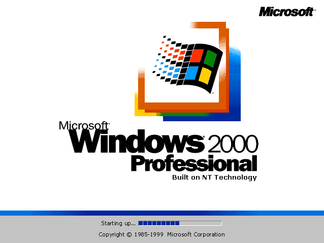 Download Windows 2000 ISO