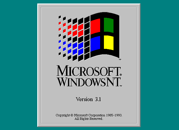 Download ISO Windows NT 3.1