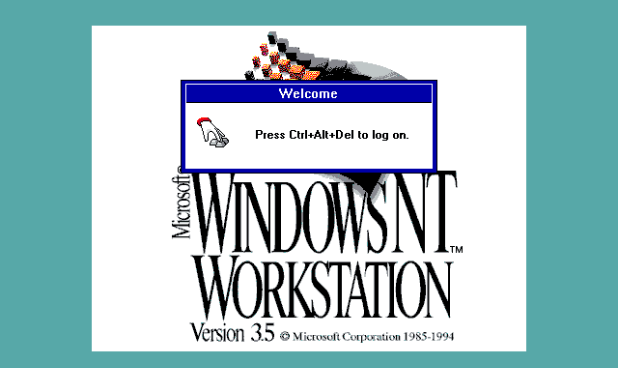 Download ISO Windows NT 3.5
