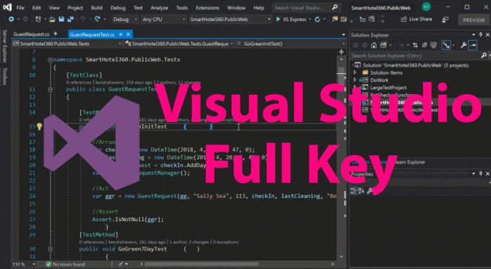 Visual Studio 2017 Pro Key Full