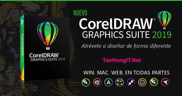 CorelDraw Graphics Suite 2019 Full